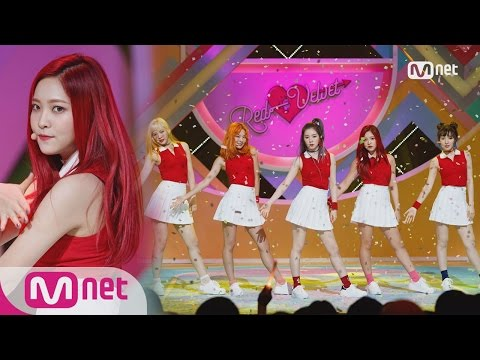 [Red Velvet - Russian Roulette] Comeback Stage   M COUNTDOWN 160908 EP.492