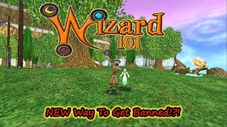Wizard101 The Newest Way To Get Banned