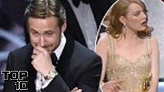 Top 10 Biggest Award Show Fails