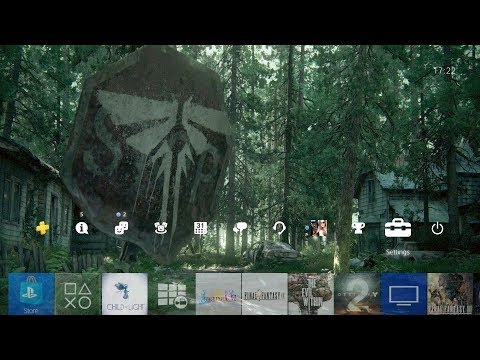 The Last Of Us Part 2 Stop Sign PS4 Theme