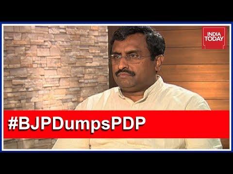 Xxx Mp4 BJP S Ram Madhav Exclusive Interview BJP PDP Split For People Of J K 3gp Sex