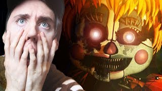 SCRAPPED BABY GETS TRIGGERED || Five Nights at Freddy's 6 Part 3 (Wednesday)