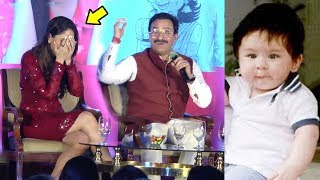 Kareena Kapoor Embarassed As Saif Talks On Her PREGNANCY With Taimur Ali Khan In Public