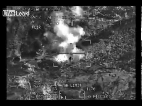 LIVE LEAK US Apaches KILL Multiple TALIBAN Insurgents near Afghan Pakistan Border NEW 2013 RARE