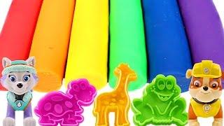Mejores Videos para Niños Aprendiendo Colores - Paw Patrol Play Doh Learning Colors