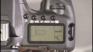 Canon 50D Top Controls