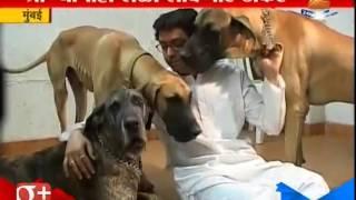 Mumbai : Dog Lover Thackeray`s
