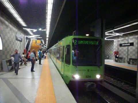 Bursaray Şehreküstü İstasyonu (Bursa Metrosu ) 07/08/2016