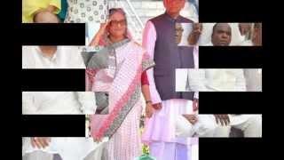 Sheikh Hasina And Captain A.B. Tajul Islam
