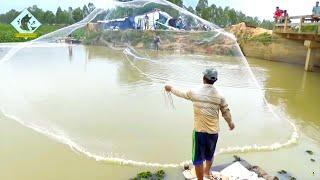 Net Fishing - Fishing Everyday Around Lake for Food #Fisherman