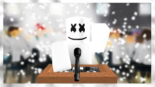 Moving On - Marshmello Story (Roblox Music Video)