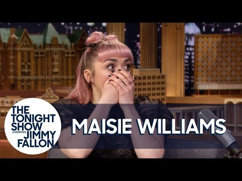 Xxx Mp4 Maisie Williams Accidentally Drops A Major Spoiler In Game Of Thrones 39 Final Season 3gp Sex