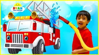 Learn Transport Vehicles for Children | Educational Video with Ryan ToysReview