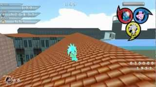 Blitz Sonic :  Blitz Sonic Heroes - Soleanna HUB w/ Team Time (Silver,Blaze,Chaos/Tikal)
