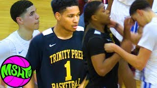 LaMelo Ball SQUARES UP with SAUCEY GUARD - Melo Battles Daishen Nix