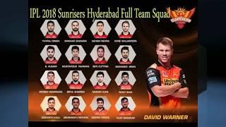 Sunrises Hyderabad Team 2018 New IPL Theme Song