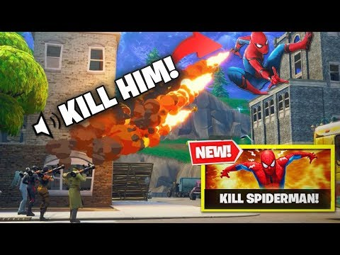 FIRST EVER KILL The Spider Man Fortnite NEW GAMEMODE NEW CUSTOM GAMEMODE IS WILD