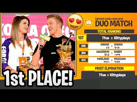 Xxx Mp4 Tfue And KittyPlays WON The Korean Open Duo Tournament Fortnite Korean Open Highlights 3gp Sex
