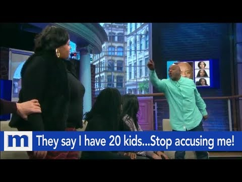Xxx Mp4 They Say I Have 20 Kids Stop Accusing Me The Maury Show 3gp Sex