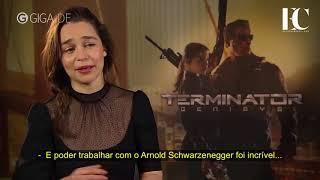Emilia Clarke fala sobre a Sarah Connor de 'O Exterminador do Futuro: Gênesis'