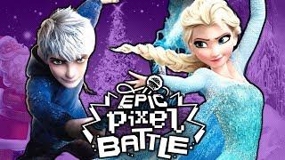 Elsa VS Jack Frost - EPIC PIXEL BATTLE [EPB SAISON 1]