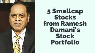 5 Smallcap Stocks from Ramesh Damani