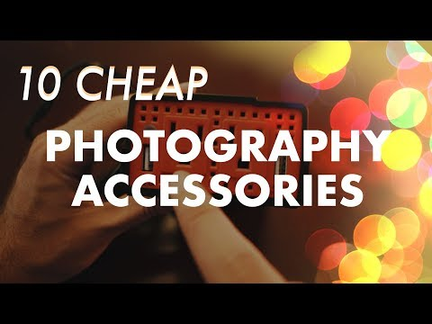 10 CHEAP accessories every photographer SHOULD have