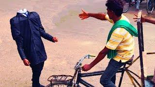 SARKATTA PRANK | Headless man | PRANKS IN INDIA | NatKhat Shady