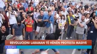REVOLUCIONI LARAMAN TË HËNËN PROTESTA MASIVE