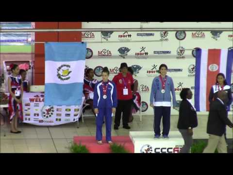 Xxx Mp4 XXX CCCAN Swimming Championships 2017 Girls 11 12 400m Freestyle Medal Ceremony 3gp Sex