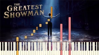 The Greatest Showman  A Million Dreams Piano Tutorial Synthesia