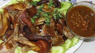 Cooking Whole Duck Curry Recipe (ការីសាច់ទា)|| Cambodian Girl Cooking Duck Curry Chinese Style