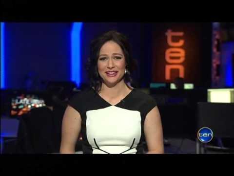 NATASHA EXELBY - Flirts, Laughing While Reading Tragic News Stories