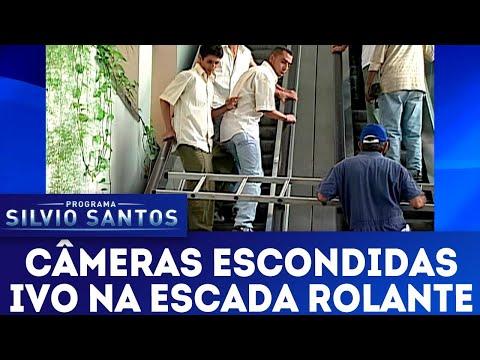 Ivo na Escada Rolante | Câmeras Escondidas (22/04/18)