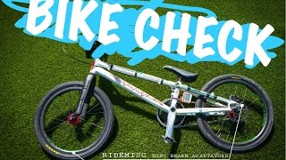 BIKE CHECK STAATS BLOODLINE 2017 - Quentin CALEYRON