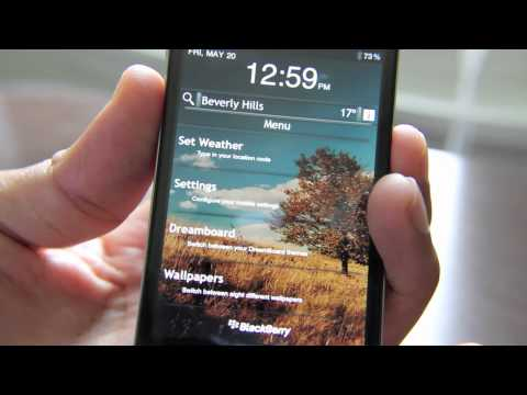 Blackberry OS 6.1 DreamBoard Theme Turns Your iPhone into a BlackBerry Wannabe