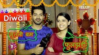 Rohan Gandotra & Simran Pareenja Fun Interview |  Happy Diwali 2016 | Celebration & Memories