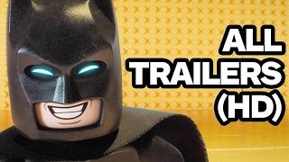 Lego Batman Movie - All Trailers (2017)