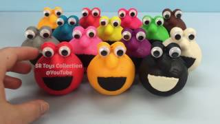 Play Doh Elmo Surprise Toys Masha and the Bear Anpanman Donald Duck Winnie the Pooh Paw Patrol Peppa