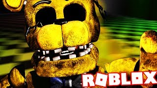 TAKING AN ELEVATOR TO FNAF GOLDEN FREDDY! || Roblox The Scary Elevator (Five Nights at Freddys)