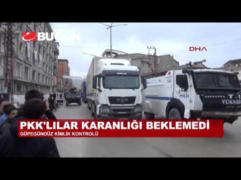 PKK'LILAR GÜNDÜZ VAKTİ KİMLİK KONTROLÜ YAPTI!