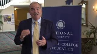 Growing Need for Teachers | Dr. David Andrews | National University