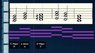 Odesi tutorial - Calvin Harris - Summer (Chords, Bassline and Melody)