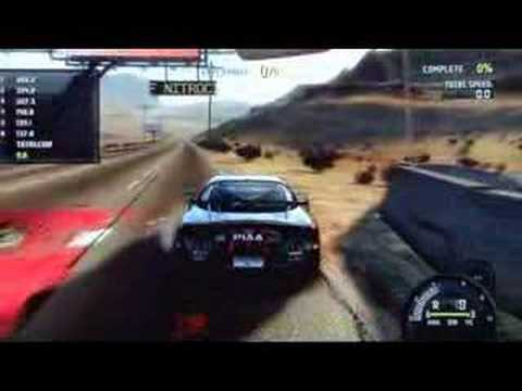 Need for Speed Pro Street E3 2007 trailer