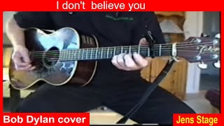 I don´t believe you