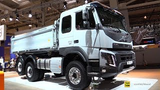 2019 Volvo FMX 500 Truck - Exterior and Interior Walkaround - 2019 IAA Hannover