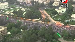 مصر من الهليكوبتر.. الملايين ضد مرسي