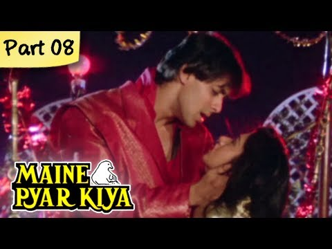 Maine Pyar Kiya (HD) - Part 08/13 - Blockbuster Romantic Hit Hindi Movie - Salman Khan, Bhagyashree