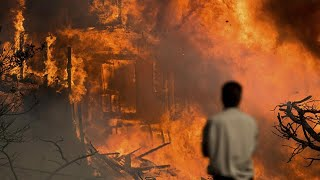 Celebrities Post Video of Fires, Flee Their Homes as Los Angeles Is Engulfed in Flames