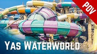 Awesome Waterpark! Yas Waterworld Abu Dhabi, UAE